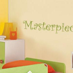 Masterpiece Kids Room Wall Decal Vi..