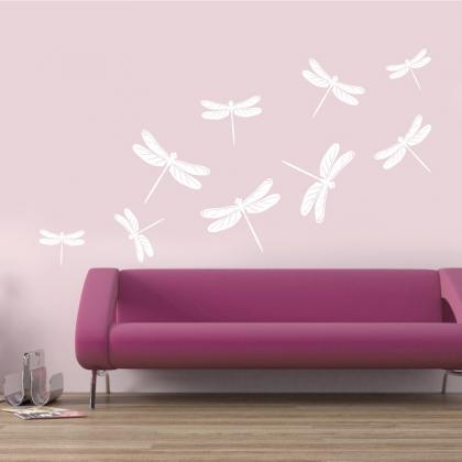 Dragonflies for Wall, Vinyl decals ..